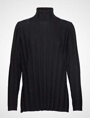 Marimekko genser, Vertaus Solid Knitted Tunic Høyhalset Pologenser Svart MARIMEKKO