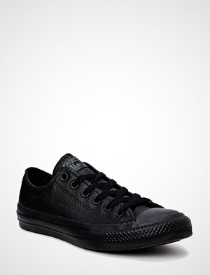 Converse sneakers, All Star Mono Leather Ox Sneakers Sko Svart CONVERSE