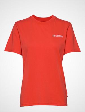 HAN Kjøbenhavn T-skjorte, Casual Tee T-shirts & Tops Short-sleeved Rød HAN KJØBENHAVN
