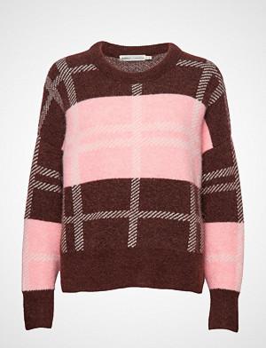 InWear genser, Ivanaiw Check Pullover Strikket Genser Rosa InWear