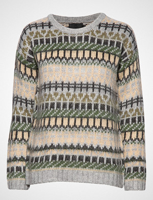 Pulz Jeans genser, Pzlotta L/S Pullover Strikket Genser Multi/mønstret PULZ JEANS