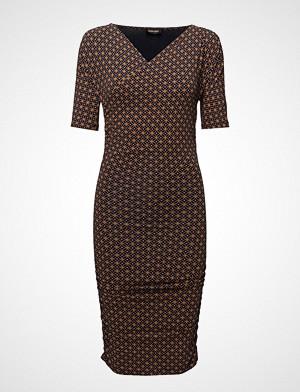 Stine Goya kjole, Bella, 376 Circles Drapy Jersey Kort Kjole Brun STINE GOYA