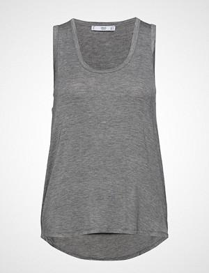 Mango singlet, Fine Knit Top T-shirts & Tops Sleeveless Grå MANGO