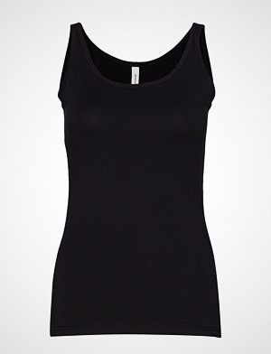 Soyaconcept singlet, Sc-Pylle T-shirts & Tops Sleeveless Svart SOYACONCEPT