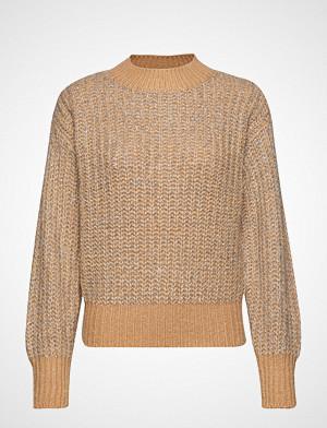 Yas genser, Yaslulex Ls Knit Pullover Strikket Genser Beige YAS