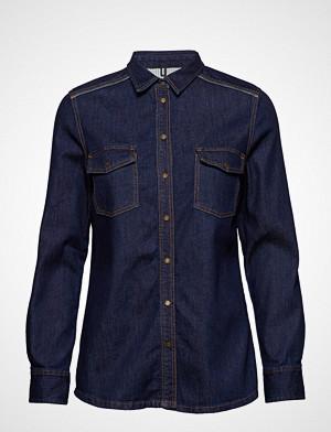 Marc O'Polo skjorte, Denim Shirt Langermet Skjorte Blå MARC O'POLO