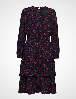 Lollys Laundry kjole, Johanne Dress Knelang Kjole Blå LOLLYS LAUNDRY