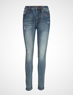 Desigual jeans, Denim Fraterni Skinny Jeans Blå DESIGUAL