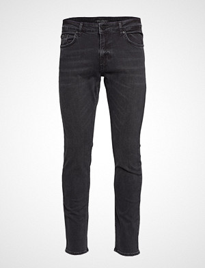 Just Junkies collegegenser, Jeff Pass Black Slim Jeans Svart JUST JUNKIES