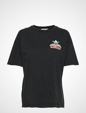 Mango T-skjorte, Simpsons T-Shirt T-shirts & Tops Short-sleeved Svart MANGO