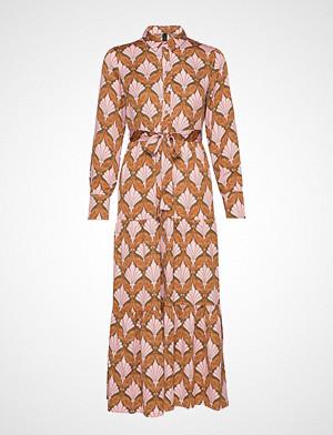 Yas kjole, Yasgabrielle Ls Ankle Shirt Dress Knelang Kjole Rosa YAS
