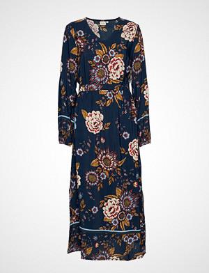 Ranja Dress Knelang Kjole Blå CREAM
