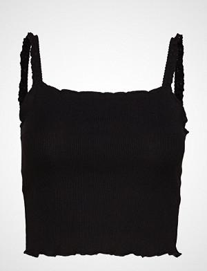 Mango singlet, Lace Straps Top T-shirts & Tops Sleeveless Svart MANGO