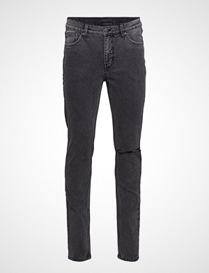 Cheap Monday collegegenser, Sonic Slash Black Slim Jeans Grå CHEAP MONDAY