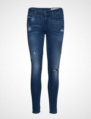 Diesel Women jeans, Slandy Trousers Skinny Jeans Blå DIESEL WOMEN