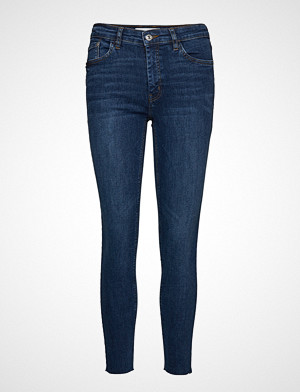 Mango jeans, Crop Skinny Isa Jeans Skinny Jeans Blå MANGO