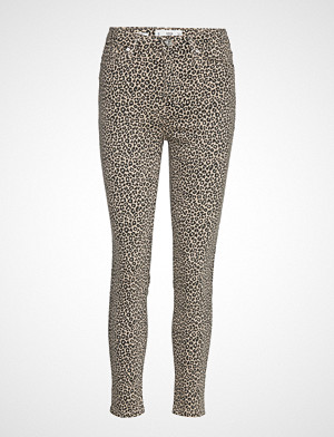 Mango jeans, High Waist Skinny Noa Jeans Skinny Jeans Beige MANGO