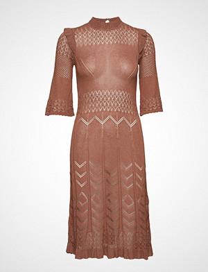 Odd Molly kjole, Pretty Pointelle Dress Knelang Kjole Rød ODD MOLLY