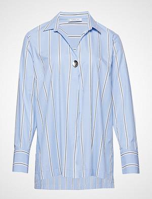 Violeta by Mango skjorte, Striped Shirt Langermet Skjorte Blå VIOLETA BY MANGO