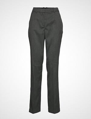 Esprit Collection bukse, Pants Woven Bukser Med Rette Ben Grå ESPRIT COLLECTION
