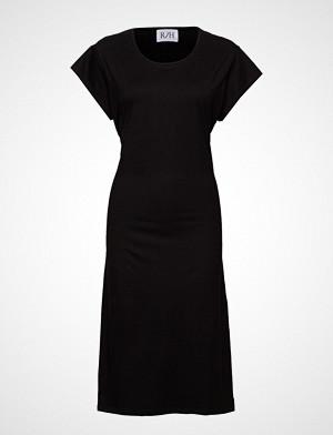 R/H Studio kjole, Debbie Tee Dress Knelang Kjole Svart R/H STUDIO