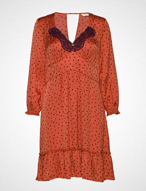 Odd Molly kjole, Hello New Love Dress Knelang Kjole Oransje ODD MOLLY