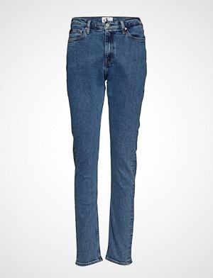 Calvin Klein jeans, Ckj 020 High Rise Sl Slim Jeans Blå Calvin Klein Jeans