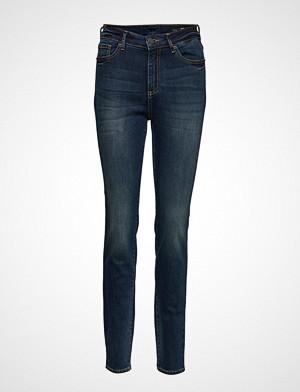 Armani Exchange jeans, Woman Denim 5 Pockets Pant Skinny Jeans Blå ARMANI EXCHANGE