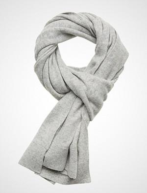 Calvin Klein skjerf, Boiled Wool Scarf W, Skjerf Grå Calvin Klein