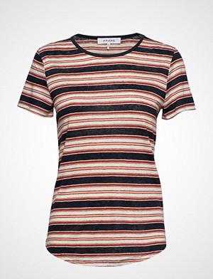 FRAME T-skjorte, True Tee T-shirts & Tops Short-sleeved Multi/mønstret Frame