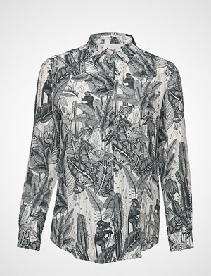 Weekend Max Mara skjorte, Cine Langermet Skjorte Multi/mønstret Weekend Max Mara