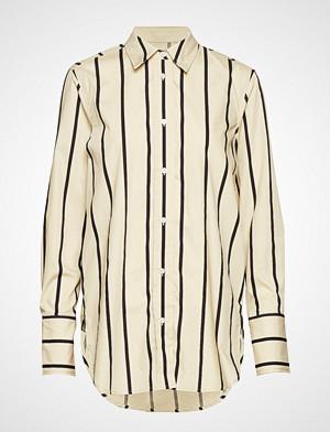 Soaked in Luxury skjorte, Sl Konnie Shirt Ls Langermet Skjorte Creme Soaked In Luxury