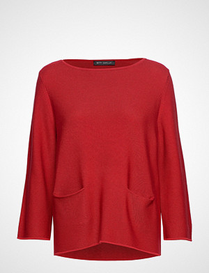 Betty Barclay genser, Knitted Pullover Short 3/4 Sle Strikket Genser Rød Betty Barclay