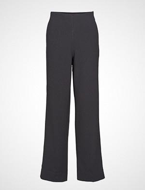 Cathrine Hammel bukse, High Waist Pants Vide Bukser Svart CATHRINE HAMMEL