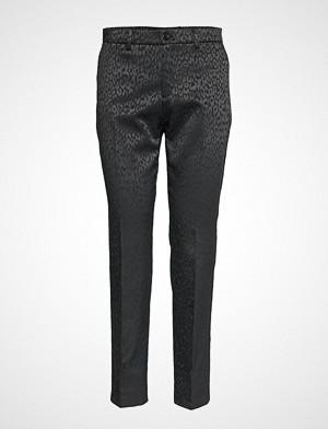 Sand bukse, 6125 - Dori A Bukser Med Rette Ben Svart SAND