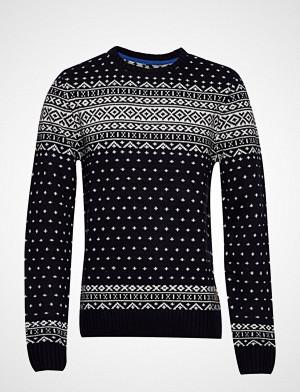 Blend genser, Pullover Strikkegenser M. Rund Krage Svart Blend