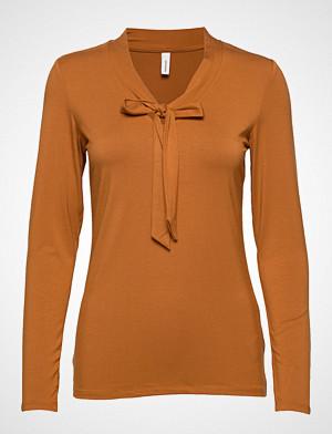 Soyaconcept T-skjorte, Sc-Marica T-shirts & Tops Long-sleeved Oransje SOYACONCEPT