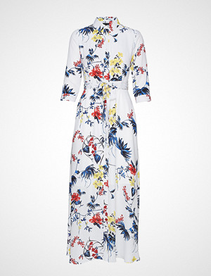 Banana Republic kjole, I Savannah Maxi Dress Floral Tropical Blooms Maxikjole Festkjole Hvit Banana Republic