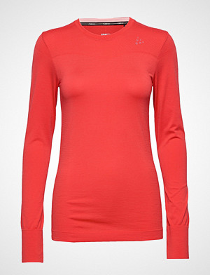 Craft T-skjorte, Fuseknit Comfort Rn Ls T-shirts & Tops Long-sleeved Rød Craft