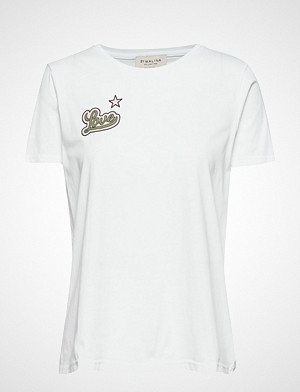 By Malina T-skjorte, Love Tee T-shirts & Tops Short-sleeved Hvit BY MALINA