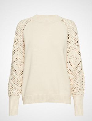 Minus genser, Thara Knit Pullover Strikket Genser Creme MINUS