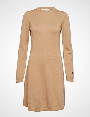 Busnel kjole, Astrid Dress Knelang Kjole Beige BUSNEL