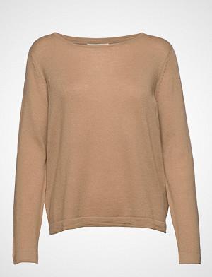 Signal genser, Knit Strikket Genser Beige SIGNAL