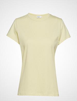 Filippa K T-skjorte, Flared Cap Sleeve T-Shirt T-shirts & Tops Short-sleeved Gul Filippa K