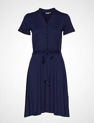 Fransa kjole, Fremdress 1 Dress Knelang Kjole Blå Fransa