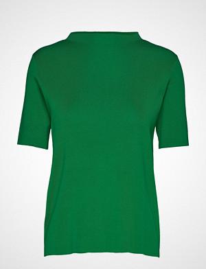 Mango T-skjorte, Fine-Knit Sweater T-shirts & Tops Short-sleeved Grønn Mango