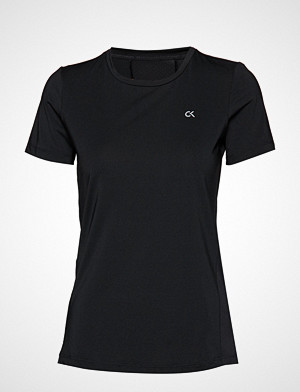 Calvin Klein Performance T-skjorte, Short Sleeve Tee, 00 T-shirts & Tops Short-sleeved Svart Calvin Klein Performance