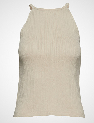 Mango singlet, Halter Neck Top T-shirts & Tops Sleeveless Beige Mango