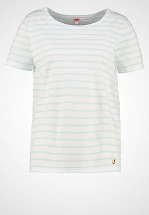 Armor-Lux T-skjorte, MARINIÈRE HERITAGE Tshirts med print blanc/eau