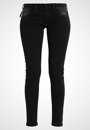 Replay jeans, LUZ COIN ZIP Jeans Skinny Fit black denim